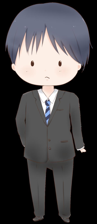 【立ち絵】サラリーマン(あっさり)