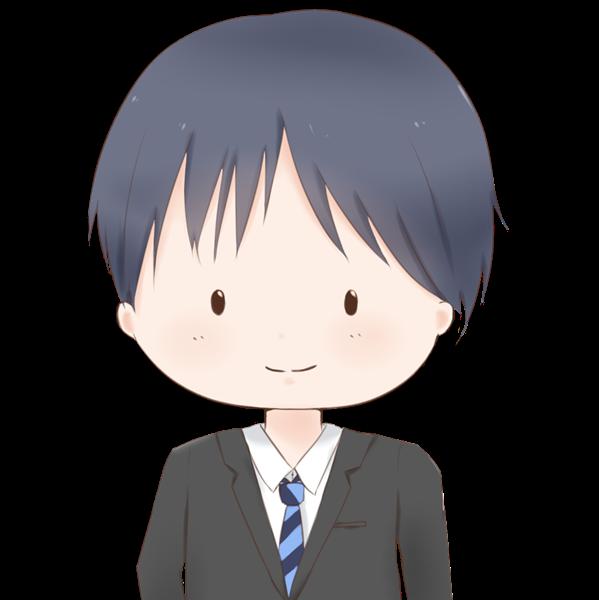 【アイコン】サラリーマン(あっさり)