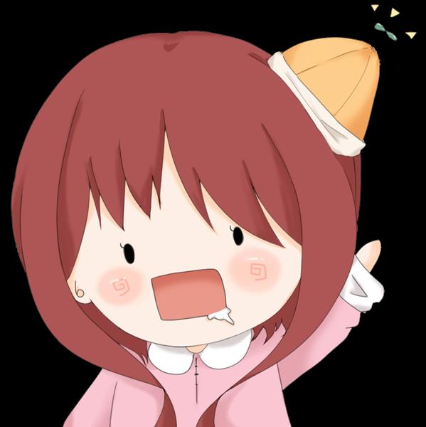 【アイコン】赤い小人(あっさり)