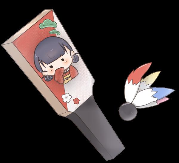 【挿絵】羽子板