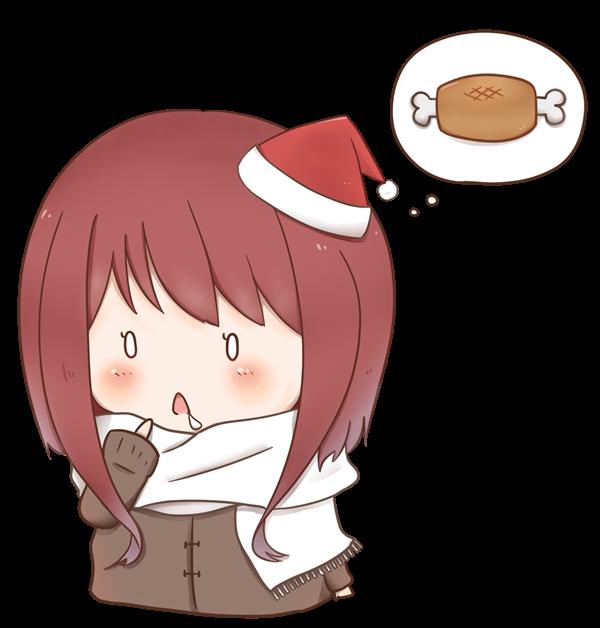 【挿絵】食いしん坊なクリスマス