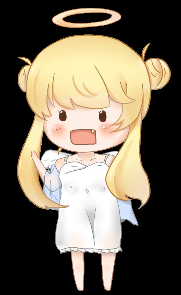 【挿絵】金髪天使