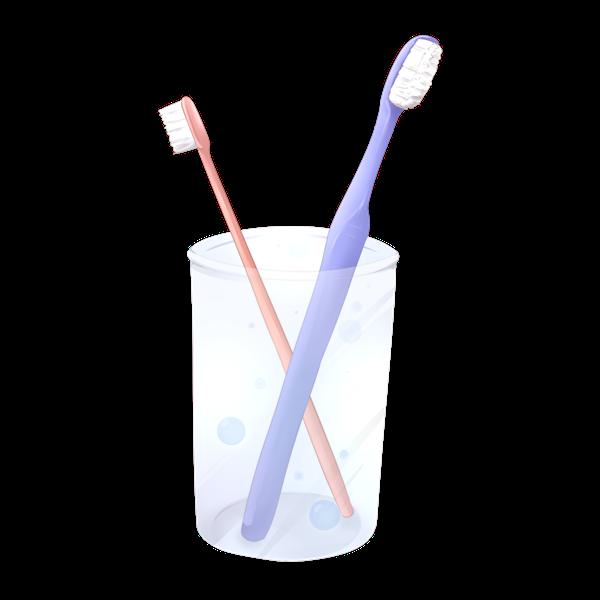 【挿絵】歯ブラシ