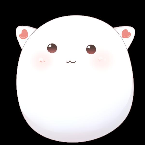 【挿絵】丸いネコ