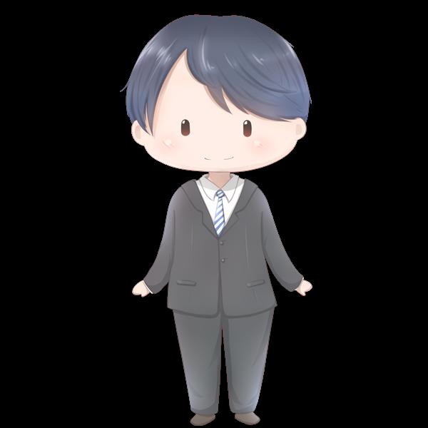 【立ち絵】スーツ男性
