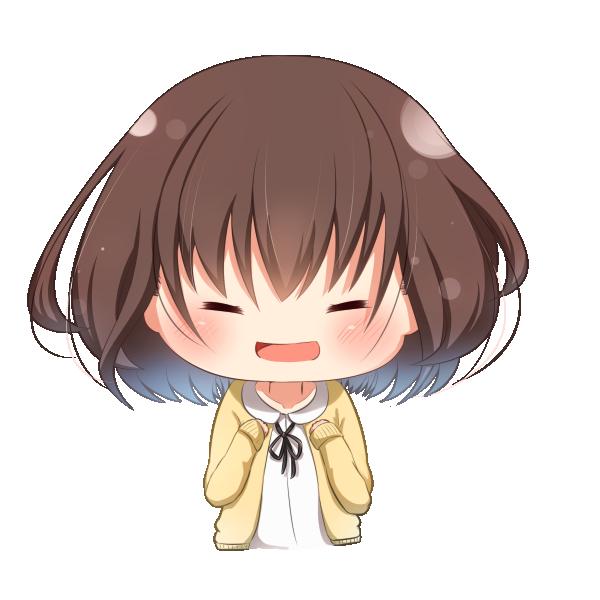 【挿絵】応援少女