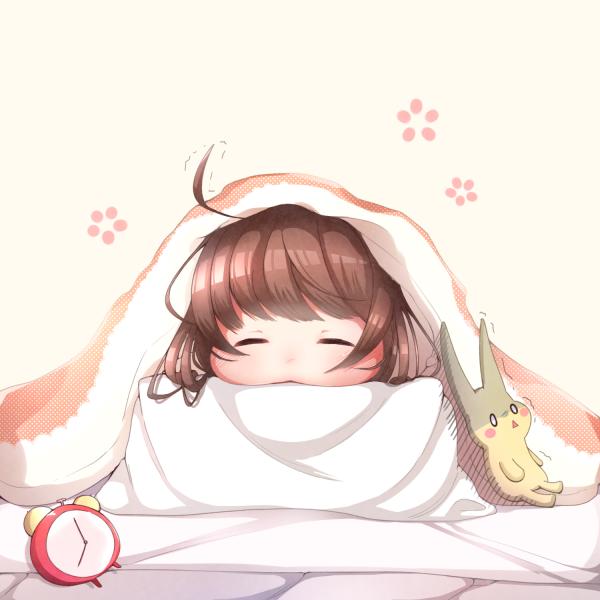【挿絵】寒い日の朝
