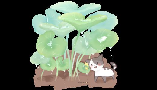 【挿絵】雨宿り