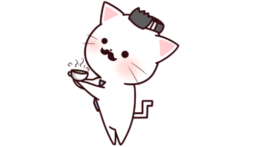 【挿絵】休憩タイムのネコパパ